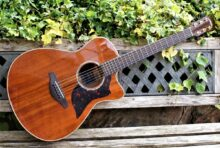 Gorgeous Yamaha AC4K All Solid Koa Electro Acoustic Guitar w/Case
