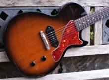 *Mint* 2002 Gibson Les Paul Junior in Vintage Sunburst (VSB) Inc Gibson Padded Gig Bag