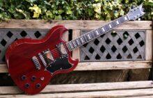Lovely, Mint Condition, Dean Gran Sport GSTCH Electric Guitar / Trans Cherry w/Soft Case